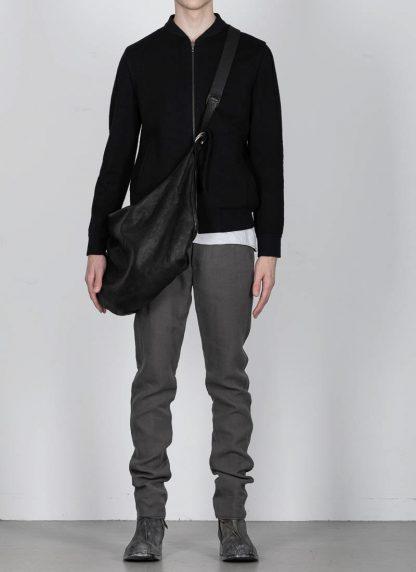 GUIDI Q15 Large Cross Body Shoulder Bag Tasche soft horse full grain leather black hide m 3