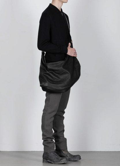 GUIDI Q15 Large Cross Body Shoulder Bag Tasche soft horse full grain leather black hide m 4