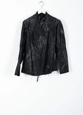 LEON EMANUEL BLANCK distortion fencing jacket DIS M FJ 01 herren jacke silk latex treatment black hide m 2