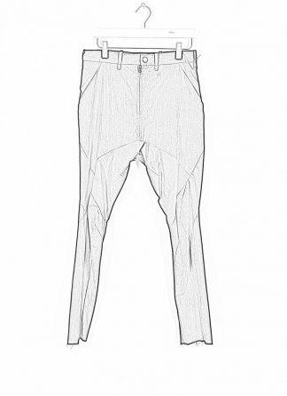 LEON EMANUEL BLANCK men Forced Perspective Chem Pants FP M CP 01 herren hose cotton nylon black hide m 1 1