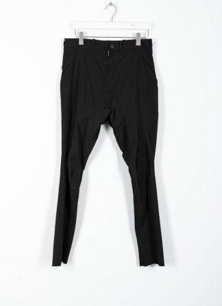 LEON EMANUEL BLANCK men Forced Perspective Chem Pants FP M CP 01 herren hose cotton nylon black hide m 2 1