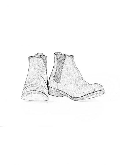 ADICIANNOVEVENTITRE A1923 AUGUSTA men 042B chelsea boot herren schuh handmade horse leather black hide m 1
