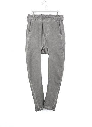 BORIS BIDJAN SABERI men P4 FBT10005 pants resin dyed herren hose jeans cotton elastan light grey hide m 2