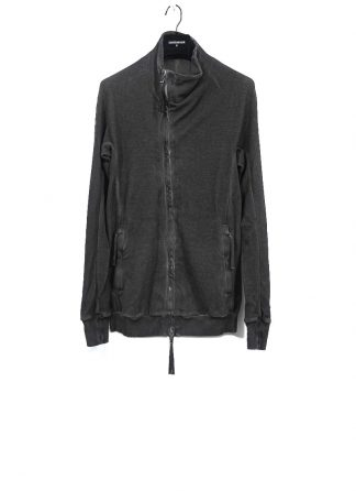 BORIS BIDJAN SABERI ss20 men zip jacket ZIPPER1 herren jacke resin dyed cotton F0503M dark grey hide m 2