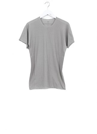 LABEL UNDER CONSTRUCTION ss20 men 35YMTS317 CO132 RG 35LG BK parabolic zip seam tee tshirt herren tee cotton light grey hide m 2