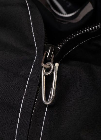 TAICHI MURAKAMI Backpack with Cotton Lining Rucksack bag tasche 3layer nylon waterproof black hide m 11