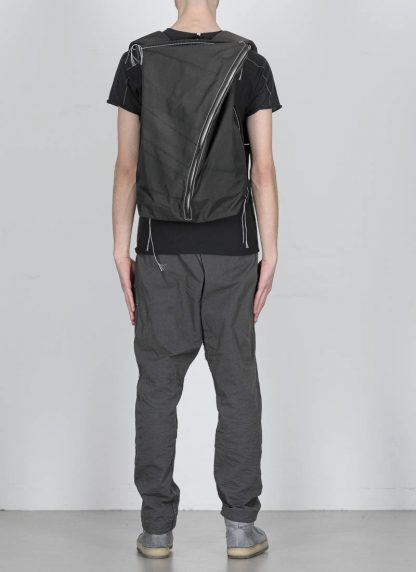 TAICHI MURAKAMI Backpack with Cotton Lining Rucksack bag tasche 3layer nylon waterproof black hide m 3