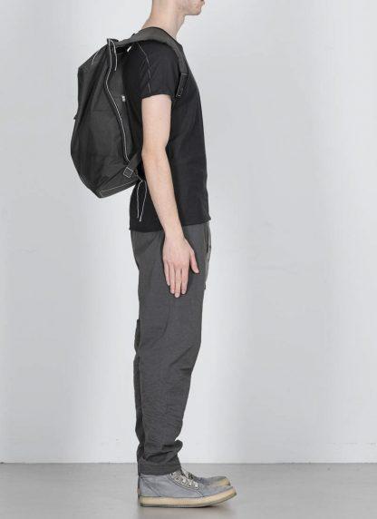TAICHI MURAKAMI Backpack with Cotton Lining Rucksack bag tasche 3layer nylon waterproof black hide m 5