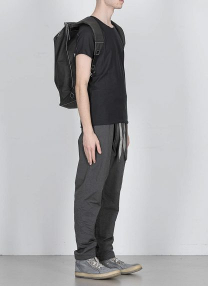 TAICHI MURAKAMI Backpack with Cotton Lining Rucksack bag tasche 3layer nylon waterproof black hide m 6