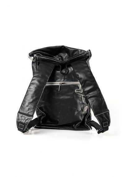 TAICHI MURAKAMI Backpack with Cotton Lining Rucksack bag tasche horse culatta leather black hide m 10