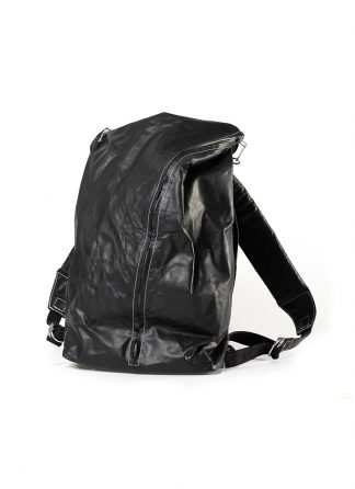 TAICHI MURAKAMI Backpack with Cotton Lining Rucksack bag tasche horse culatta leather black hide m 2