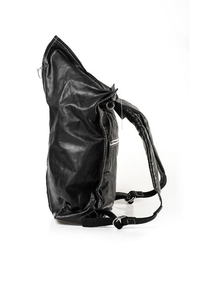 TAICHI MURAKAMI Backpack with Cotton Lining Rucksack bag tasche horse culatta leather black hide m 7
