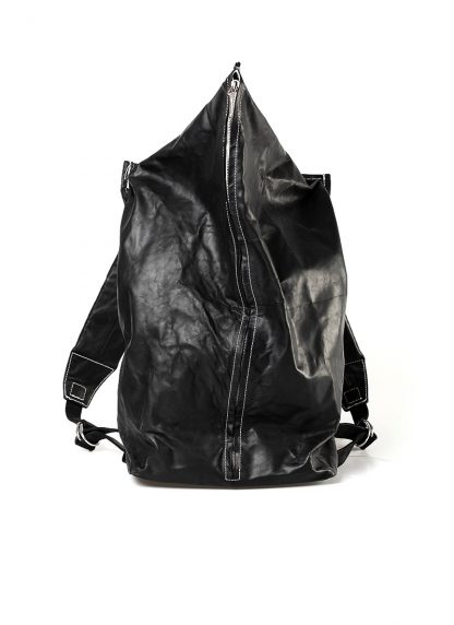TAICHI MURAKAMI Backpack with Cotton Lining Rucksack bag tasche horse culatta leather black hide m 8