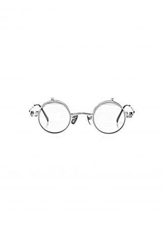TAICHI MURAKAMI O Megane Flip glasses eyewear brille titan frame silver with dark grey lens hide m 1 1