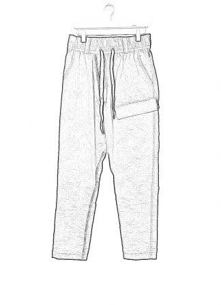 TAICHI MURAKAMI ss20 men Cargo LC Pants herren hose zimbabwe cotton steel black hide m 1