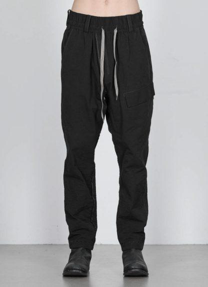 TAICHI MURAKAMI ss20 men Cargo LC Pants herren hose zimbabwe cotton steel black hide m 3