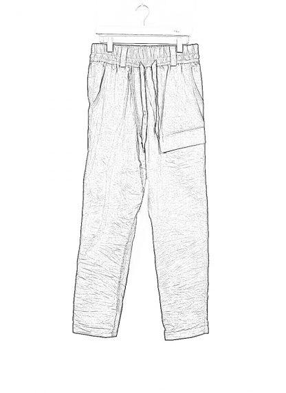 TAICHI MURAKAMI ss20 men Cargo LC Pants herren hose zimbabwe cotton steel dark grey hide m 1