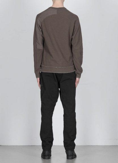 TAICHI MURAKAMI ss20 men Pocket Sweater Knitted herren pulli rachel cotton ramie steel khaki hide m 5