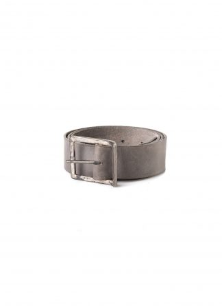 ADICIANNOVEVENTITRE A1923 AUGUSTA belt guertel horse leather grey hide m 2