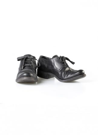 ADICIANNOVEVENTITRE A1923 AUGUSTA men 033N handmade goodyear derby shoe herren schuh horse leather black hide m 2