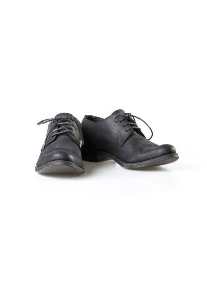 ADICIANNOVEVENTITRE A1923 AUGUSTA men 033N handmade goodyear derby shoe herren schuh kudu leather black hide m 3
