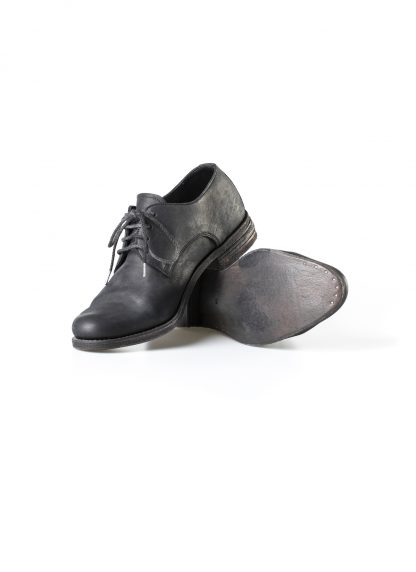 ADICIANNOVEVENTITRE A1923 AUGUSTA men 033N handmade goodyear derby shoe herren schuh kudu leather black hide m 4
