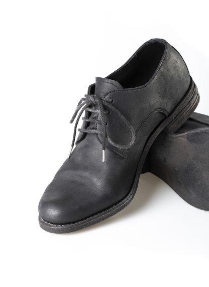 ADICIANNOVEVENTITRE A1923 AUGUSTA men 033N handmade goodyear derby shoe herren schuh kudu leather black hide m 5