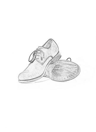 ADICIANNOVEVENTITRE A1923 AUGUSTA men 04 handmade goodyear shoe derby herren schuh kudu black hide m 1