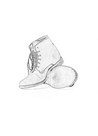 ADICIANNOVEVENTITRE A1923 AUGUSTA men 06 handmade goodyear ankle boot herren schuh horse cordovan leather bicolor grey brown hide m 1