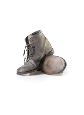 ADICIANNOVEVENTITRE A1923 AUGUSTA men 06 handmade goodyear ankle boot herren schuh horse cordovan leather bicolor grey brown hide m 2