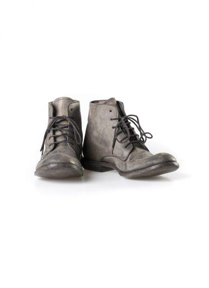 ADICIANNOVEVENTITRE A1923 AUGUSTA men 06 handmade goodyear ankle boot herren schuh horse cordovan leather bicolor grey brown hide m 3