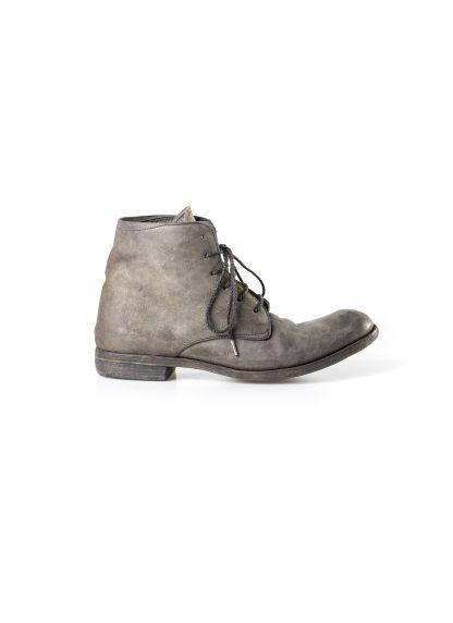 ADICIANNOVEVENTITRE A1923 AUGUSTA men 06 handmade goodyear ankle boot herren schuh horse cordovan leather bicolor grey brown hide m 4