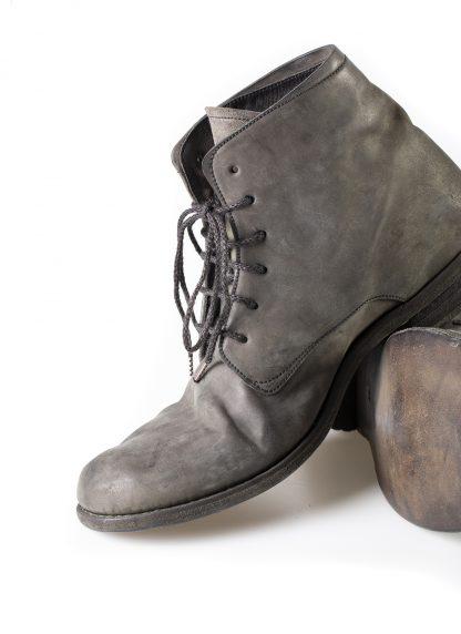 ADICIANNOVEVENTITRE A1923 AUGUSTA men 06 handmade goodyear ankle boot herren schuh horse cordovan leather bicolor grey brown hide m 5