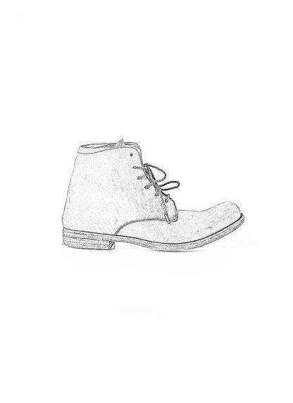 ADICIANNOVEVENTITRE A1923 AUGUSTA men 06 handmade goodyear ankle boot herren schuh horse cordovan leather light grey brown hide m 1