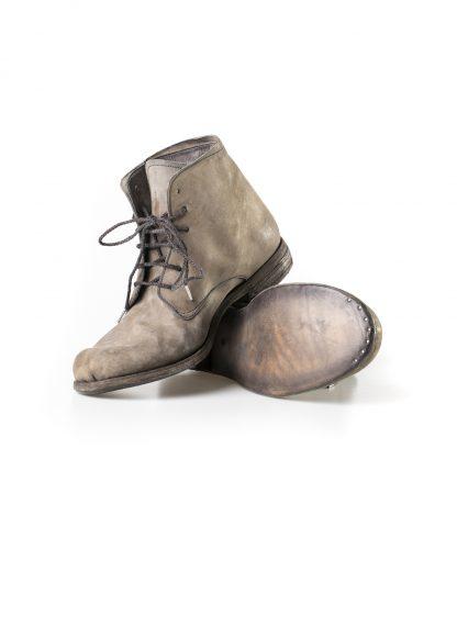 ADICIANNOVEVENTITRE A1923 AUGUSTA men 06 handmade goodyear ankle boot herren schuh horse cordovan leather light grey brown hide m 4