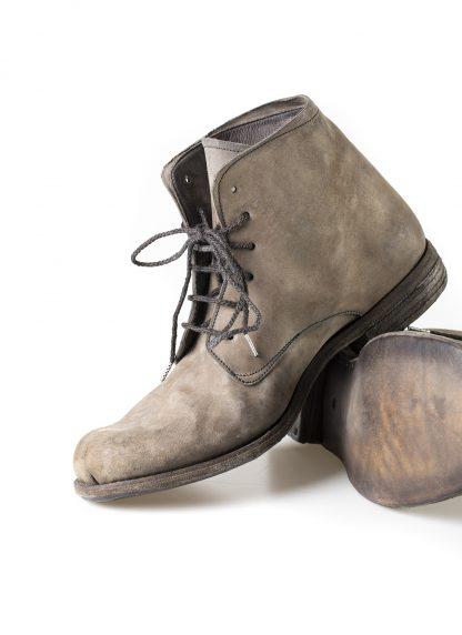 ADICIANNOVEVENTITRE A1923 AUGUSTA men 06 handmade goodyear ankle boot herren schuh horse cordovan leather light grey brown hide m 5