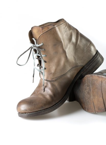 ADICIANNOVEVENTITRE A1923 AUGUSTA men 13 handmade goodyear ankle boot herren schuh donkey leather mud hide m 5