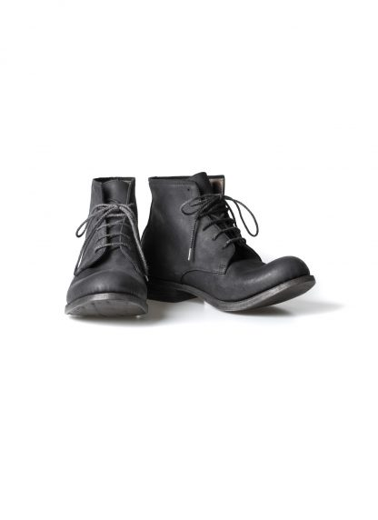 ADICIANNOVEVENTITRE A1923 AUGUSTA men FM1 handmade goodyear ankle boot herren schuh kudu leather black hide m 3