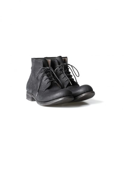 ADICIANNOVEVENTITRE A1923 AUGUSTA men FM1 handmade goodyear ankle boot herren schuh kudu leather black hide m 4