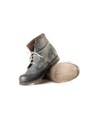 ADICIANNOVEVENTITRE A1923 AUGUSTA men FM1 handmade goodyear ankle boot herren schuh kudu leather grey hide m 2
