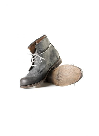 ADICIANNOVEVENTITRE A1923 AUGUSTA men FM1 handmade goodyear ankle boot herren schuh kudu leather grey hide m 2