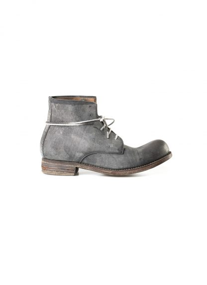 ADICIANNOVEVENTITRE A1923 AUGUSTA men FM1 handmade goodyear ankle boot herren schuh kudu leather grey hide m 4