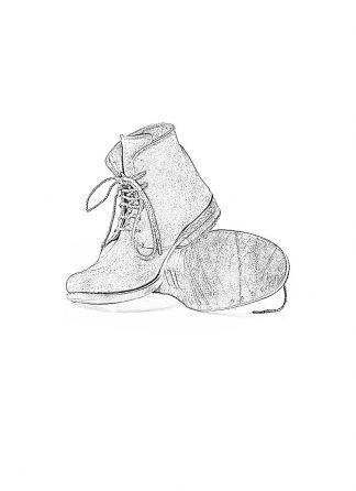 ADICIANNOVEVENTITRE A1923 AUGUSTA men K6 handmade goodyear ankle boot herren schuh kangaroo rev black hide m 1