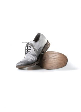 ADICIANNOVEVENTITRE A1923 AUGUSTA men SS6 handmade goodyear shoe derby herren schuh kangaroo leather grey hide m 2
