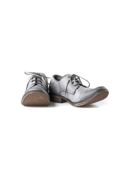 ADICIANNOVEVENTITRE A1923 AUGUSTA men SS6 handmade goodyear shoe derby herren schuh kangaroo leather grey hide m 3