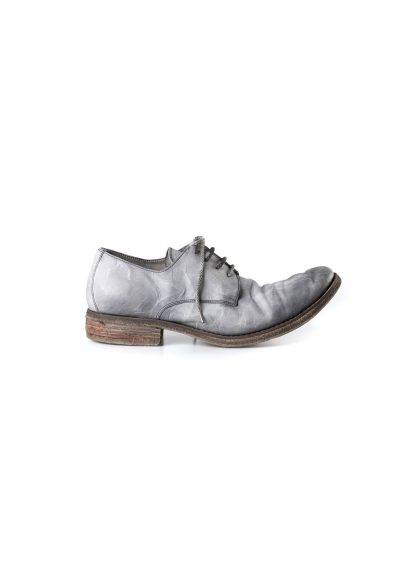ADICIANNOVEVENTITRE A1923 AUGUSTA men SS6 handmade goodyear shoe derby herren schuh kangaroo leather grey hide m 4