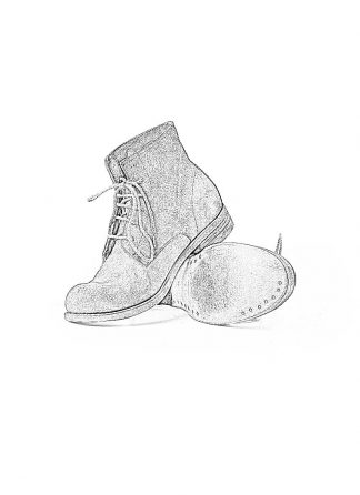 ADICIANNOVEVENTITRE A1923 AUGUSTA women 06 handmade goodyear boot shoe damen schuh horse leather rev grey hide m 1