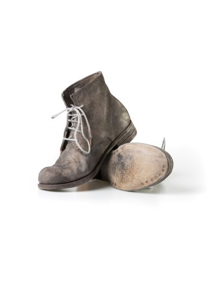 ADICIANNOVEVENTITRE A1923 AUGUSTA women 06 handmade goodyear boot shoe damen schuh horse leather rev grey hide m 2