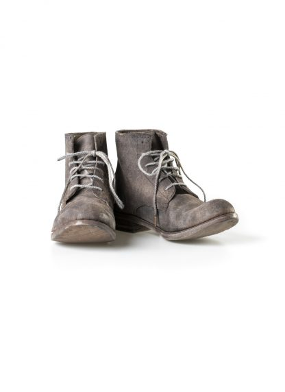 ADICIANNOVEVENTITRE A1923 AUGUSTA women 06 handmade goodyear boot shoe damen schuh horse leather rev grey hide m 3
