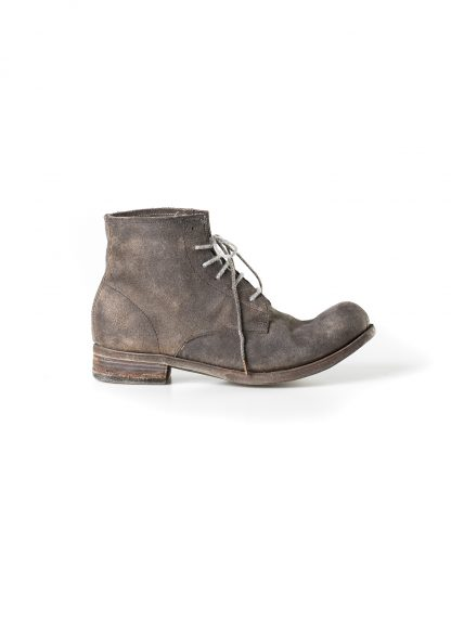ADICIANNOVEVENTITRE A1923 AUGUSTA women 06 handmade goodyear boot shoe damen schuh horse leather rev grey hide m 4